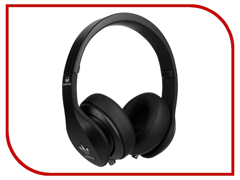 Гарнитура Monster Adidas Over-Ear Black 137012-00<br>