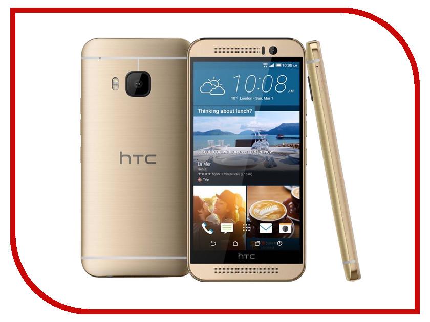 Сотовый телефон HTC One M9 Gold on Gold<br>
