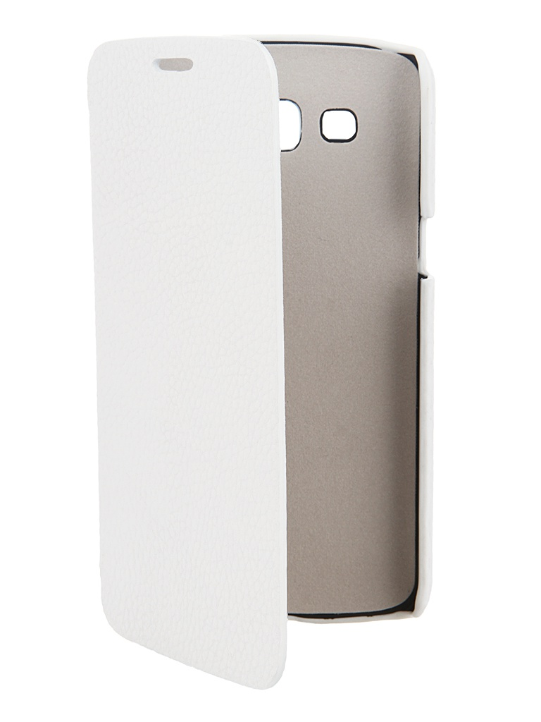 Аксессуар Чехол Samsung SM-G7102 Galaxy Grand 2 Clever Case Leather Shell тисненая