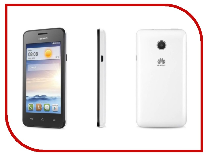 Сотовый телефон Huawei Ascend Y330 White