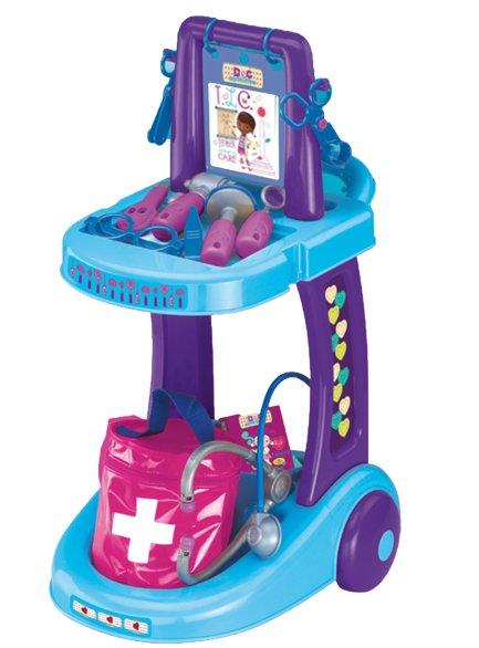 Сюжетно-ролевая игра Disney Доктор Плюшева Тележка доктора 1230