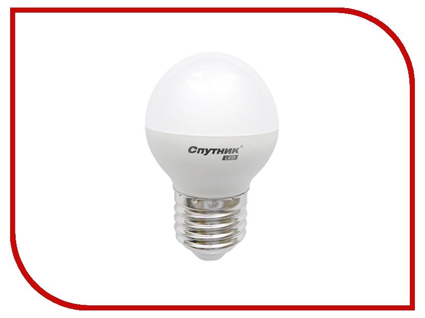 Лампочка Спутник LED G45 E27 5W 220V 2700K 16-G45-5W-2700-E27<br>