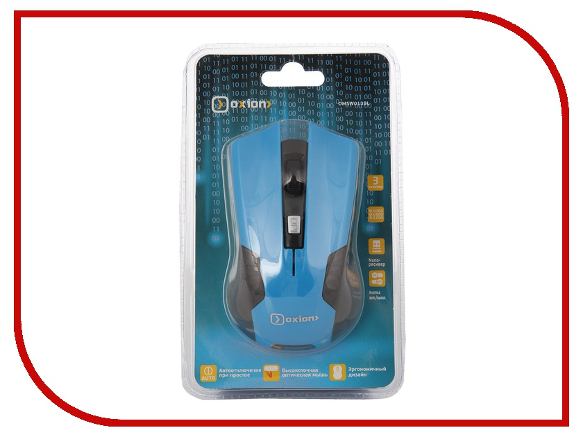 ���� ������������ Oxion OMSW013BL Blue