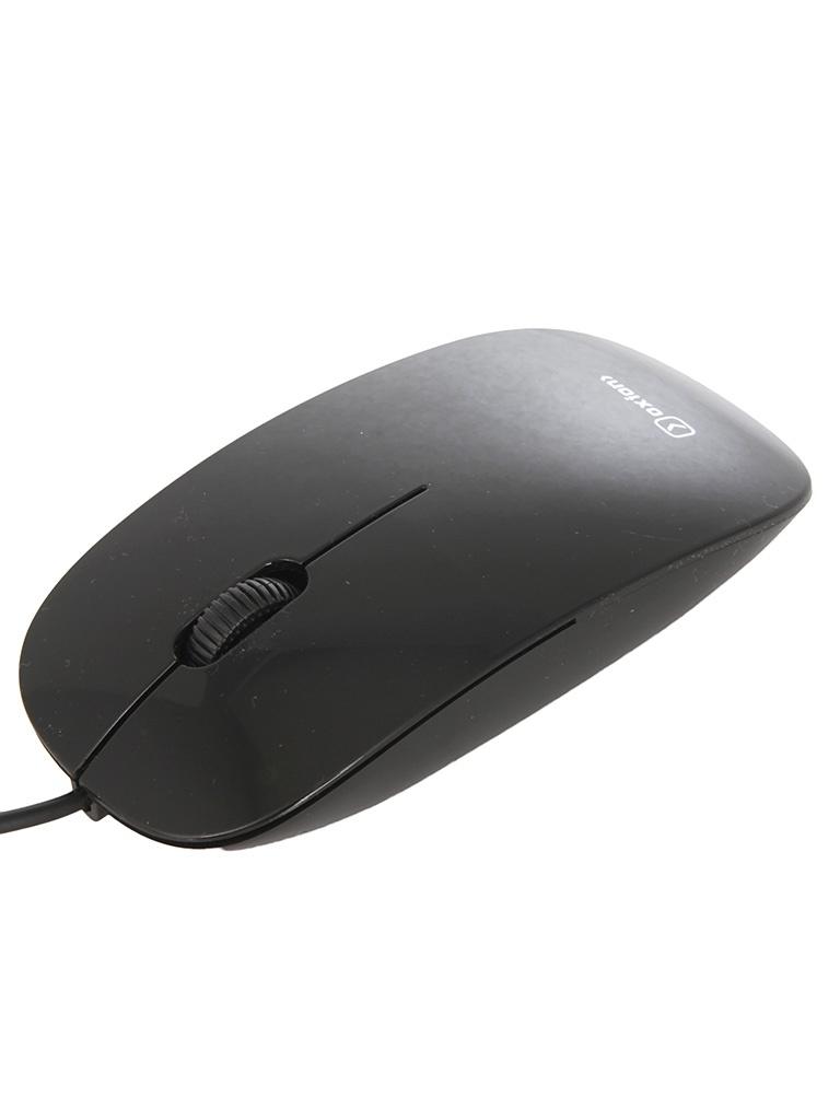 Мышь проводная Oxion OMS014BK Black<br>