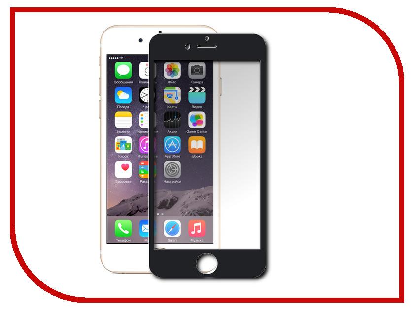 Аксессуар Защитное стекло Ainy Full Screen Cover 0.33mm для iPhone 6 Plus Black аксессуар защитное стекло ainy for samsung sm a310 a3100 galaxy a3 full screen cover 0 33mm black