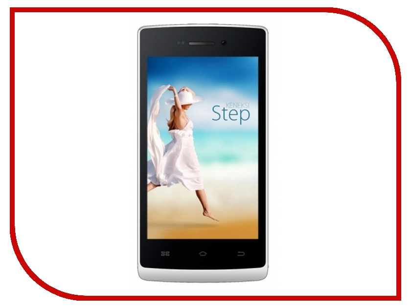 Сотовый телефон KENEKSI Step White<br>