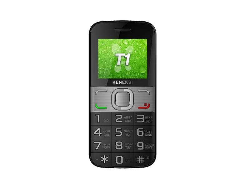 Сотовый телефон KENEKSI T1 Black<br>