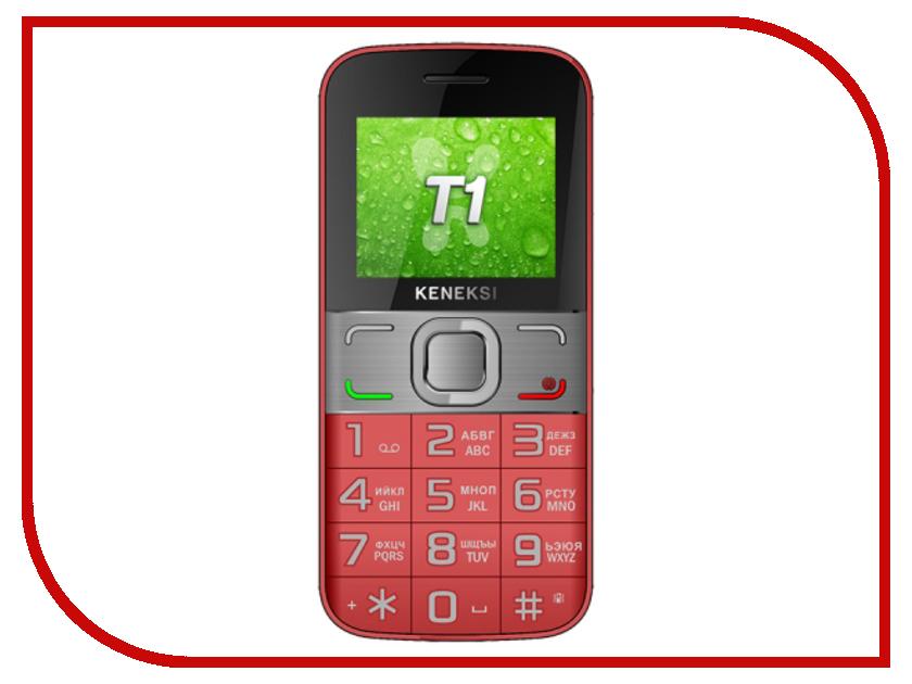 Сотовый телефон KENEKSI T1 Red
