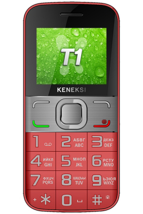 Сотовый телефон KENEKSI T1 Red<br>