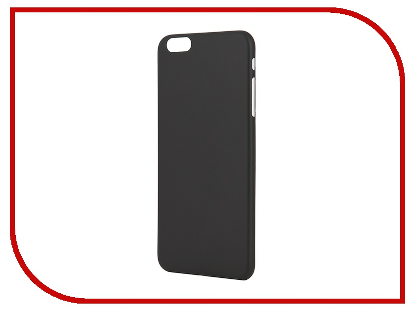 Аксессуар Чехол-накладка Stone Age 0.33mm for iPhone 6 Plus Black<br>