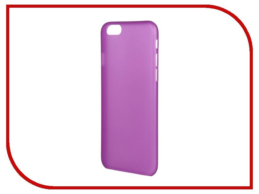 Аксессуар Чехол-накладка Just Case Zero 0.3mm для iPhone 6 Purple<br>