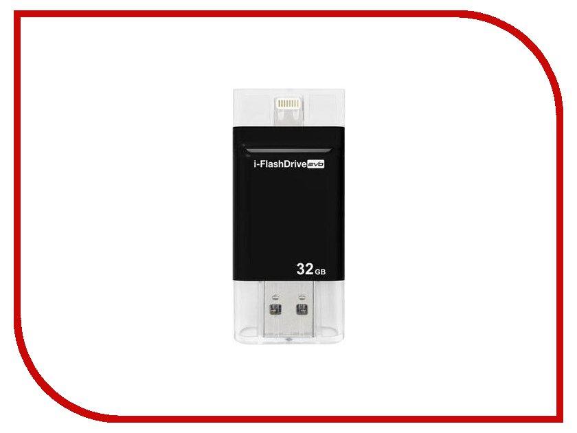 USB Flash Drive 32Gb - PhotoFast I-FlashDrive Evo<br>