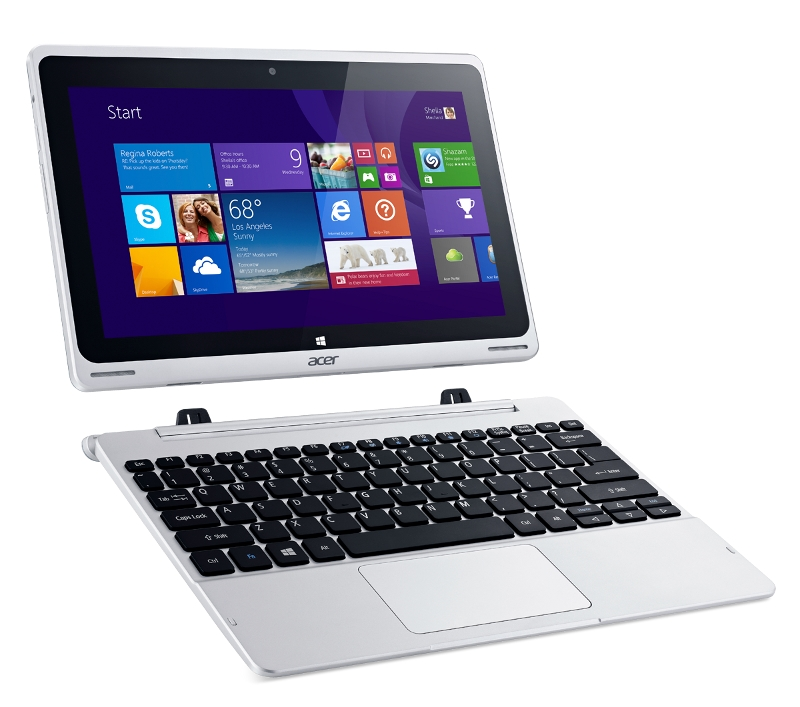 Планшет Acer Aspire Switch 11 32Gb SW5-111-12V4 + Dock Silver NT.L67ER.002 Intel Atom Z3745 1.33 GHz/2048Mb/32Gb/Wi-Fi/Bluetooth/Cam/11.6/1366x768/Windows 8.1