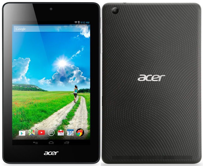 Планшет Acer Iconia One 7 B1-750-19GV 16Gb NT.L65EE.003 Intel Atom Z3735 1.33 GHz/1024Mb/16Gb/Wi-Fi/Bluetooth/Cam/7.0/1280x800/Android