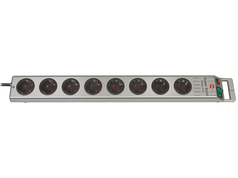 Сетевой фильтр Brennenstuhl Super-Solid Line 8 Sockets 2.5m 1153340118 сетевой фильтр brennenstuhl secure tec 8 sockets 3m 1159490936