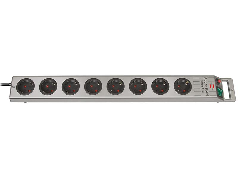 Сетевой фильтр Brennenstuhl Super-Solid Line 8 Sockets 2.5m 1153340118