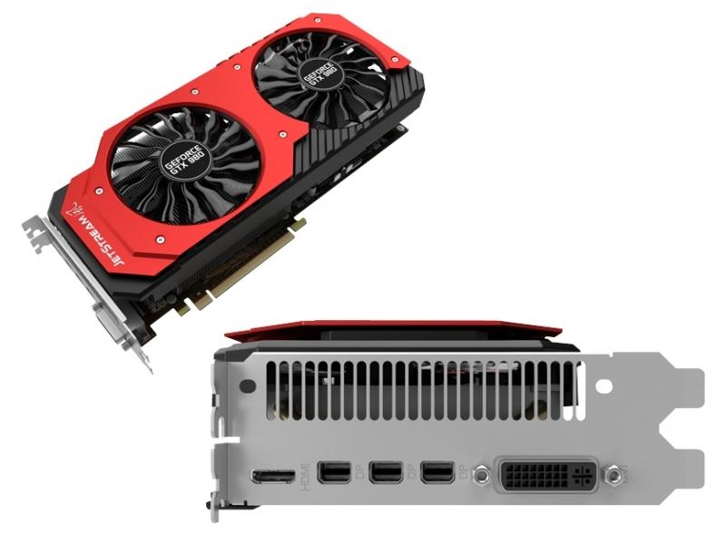 Видеокарта Palit GeForce GTX 980 1203Mhz PCI-E 3.0 4096Mb 7200Mhz 256 bit DVI Mini-HDMI HDCP NE5X980H14G2-2042J