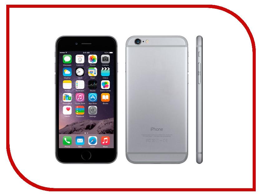 Сотовый телефон APPLE iPhone 6 - 64Gb Space Gray MG4F2RU/A