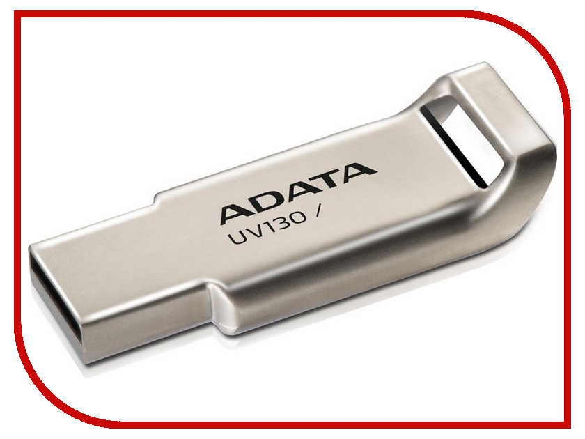 USB Flash Drive 8Gb - A-Data UV130 AUV130-8G-RGD