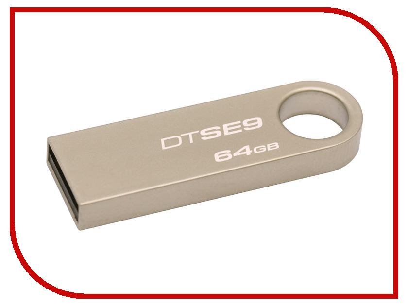 USB Flash Drive 64Gb - Kingston DataTraveler SE9 DTSE9H/64Gb