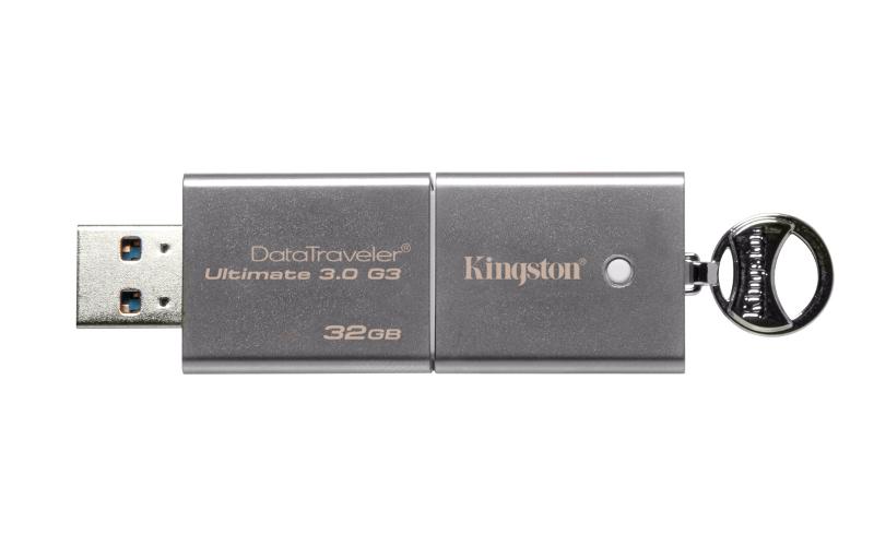 USB Flash Drive 32Gb - Kingston FlashDrive DataTraveler Ultimate 3.0 G3 DTU30G3/32GB