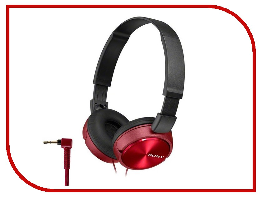 Наушники Sony MDR-ZX310/R Red<br>