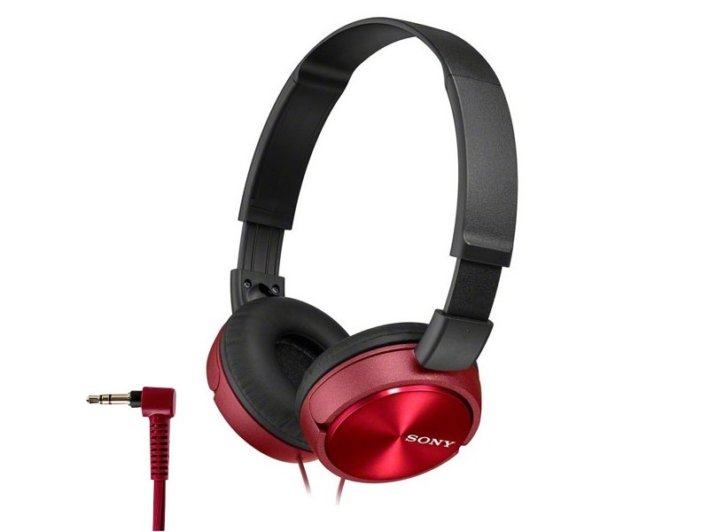 Sony MDR-ZX310/R Red наушники sony mdr zx310 blue