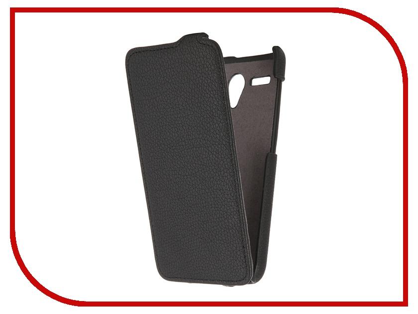 Аксессуар Чехол Lenovo A606 Partner Flip-case Black ПР032391
