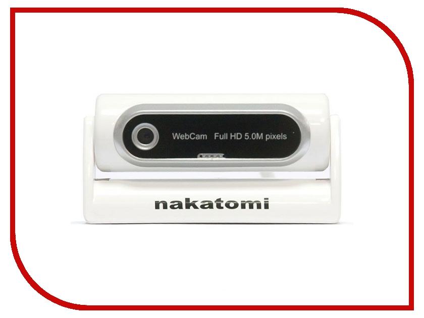 Вебкамера Nakatomi WC-V5000 White-Silver