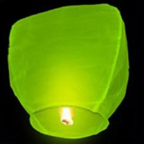 Небесный фонарик Эврика Фонарь желаний Green 91834 небесный фонарик желаний nebofon сердце 2d pink