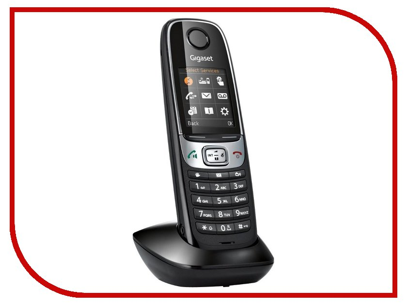 Радиотелефон Gigaset C620H (доп. трубка) трубка для беспроводных телефонов gigaset e630h black