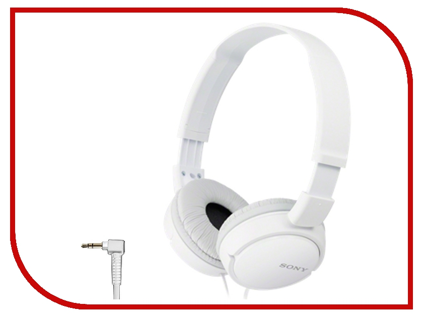 Гарнитура Sony MDR-ZX110AP White гарнитура sony mdr xb510as blue