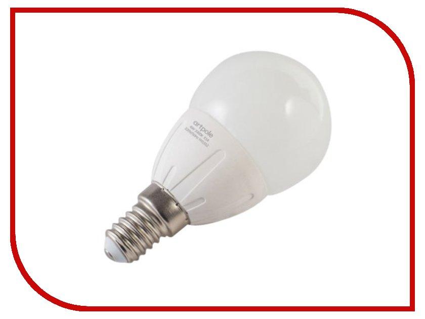 Лампочка Artpole Mini Classic 6W 4200K 220V E14 004425<br>