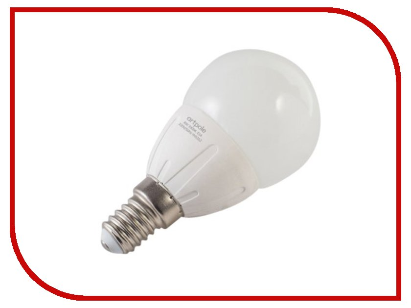 Лампочка Artpole Mini Classic 4W 6500K 220V E14 004316