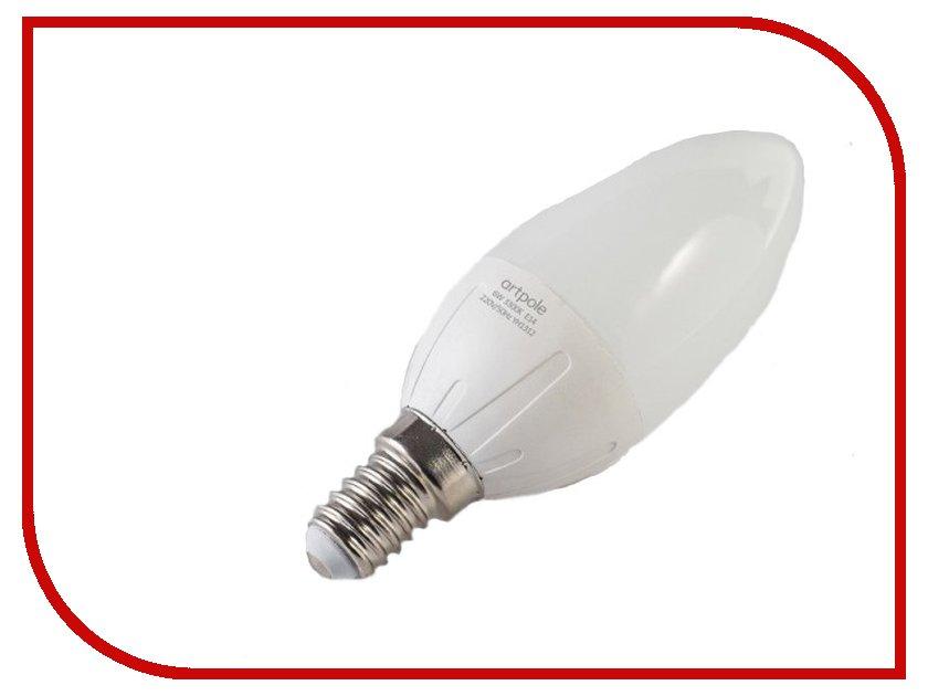 Лампочка Artpole 4W 3300K 220V E14 004305