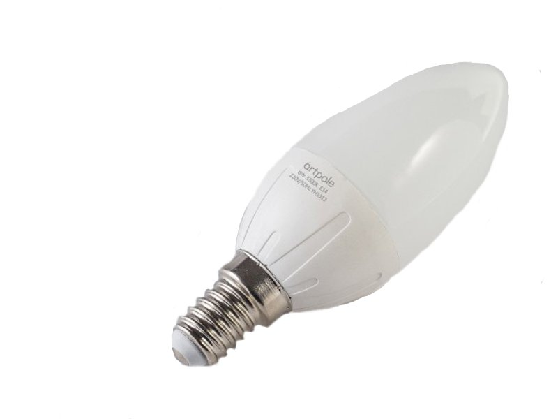 Лампочка Artpole 4W 3300K 220V E14 004305<br>