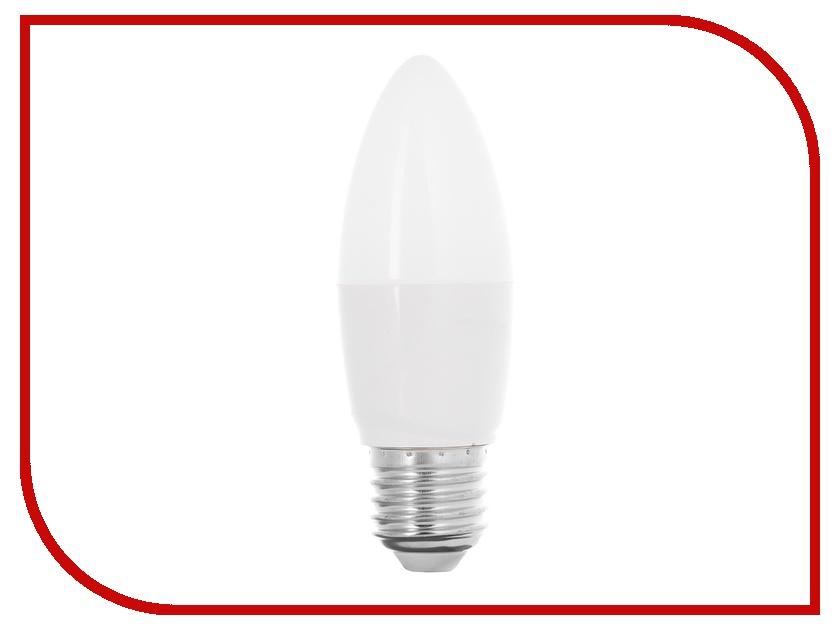 Лампочка Camelion C35 6.5W 220V E27 4500K 590 Lm LED6.5-C35/845/E27 цена и фото
