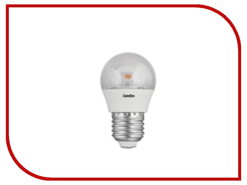 Лампочка Camelion G45 5.5W 220V E27 3000K 445 Lm LED5.5-G45-CL/830/E27<br>
