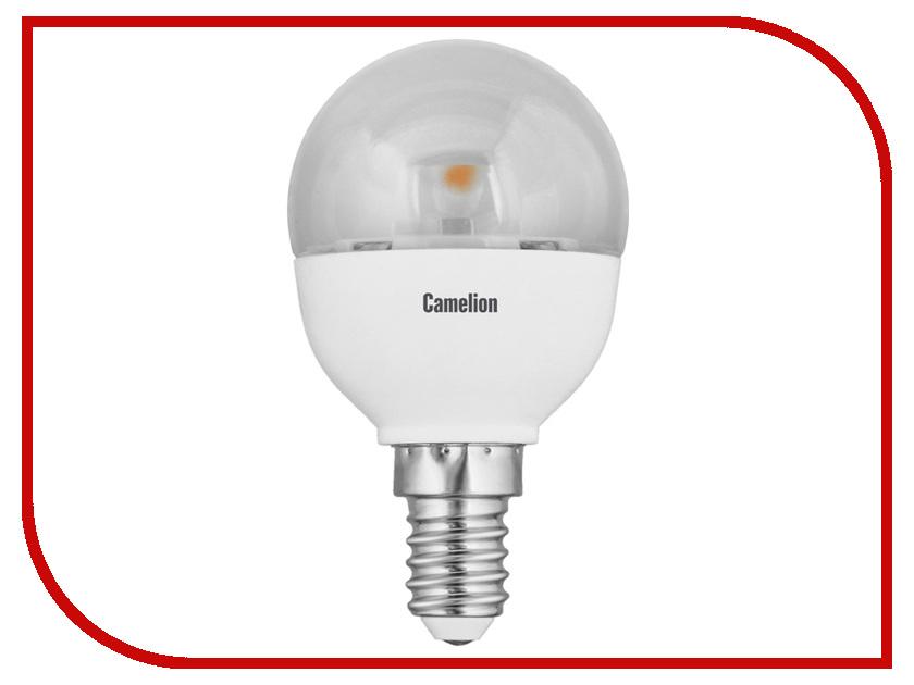 Лампочка Camelion G45 5.5W 220V E14 4500K 475 Lm LED5.5-G45-CL/845/E14 лампочка ecola globe led e14 7w g45 220v 4000k k4lv70elc