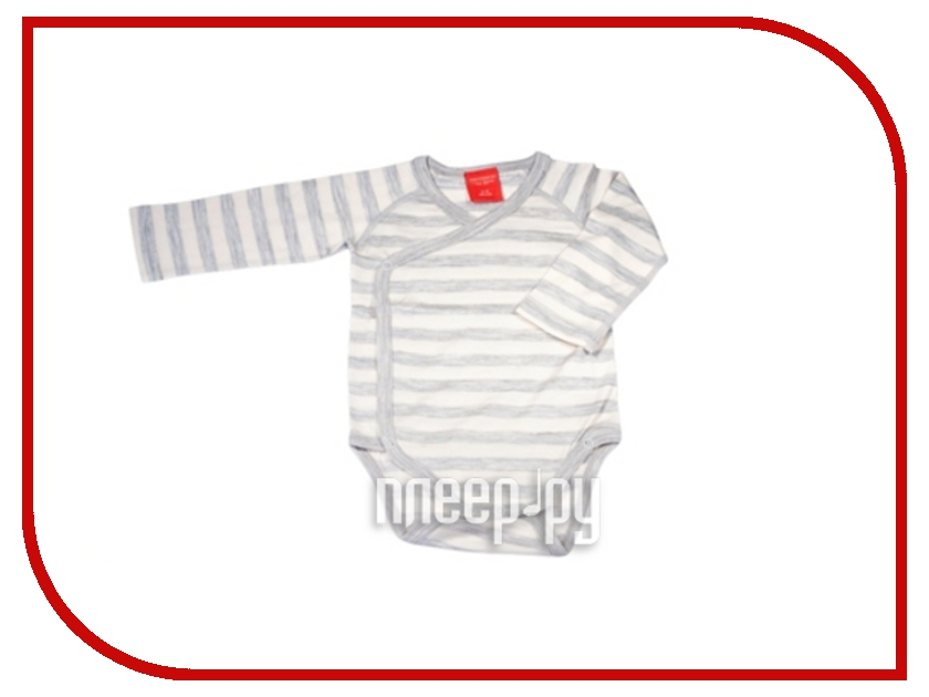 Боди Merri Merini 0-3 месяцев Grey Strip MM-03U