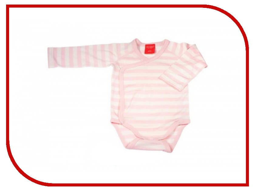 Боди Merri Merini 0-3 месяцев Pink Strip MM-03G