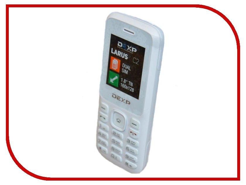 Сотовый телефон DEXP Larus C2 White<br>
