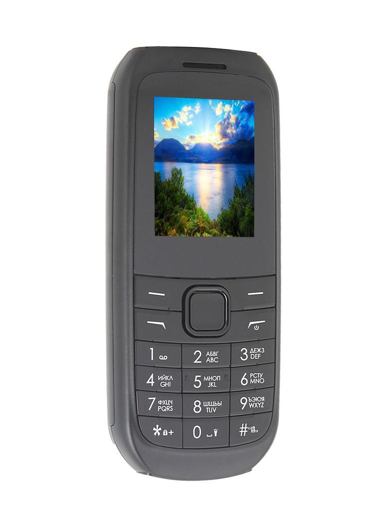 Сотовый телефон DEXP Larus E4 Black<br>