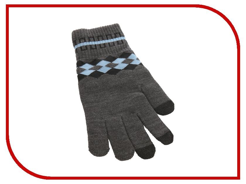 Теплые перчатки для сенсорных дисплеев CBR / Human Friends Mobile Comfort Fiver р.UNI Dim Grey