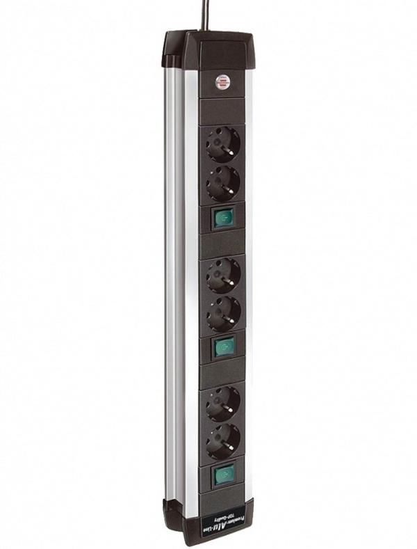 Сетевой фильтр Brennenstuhl Premium-Alu-Line 6 Sockets 3m 1391000078