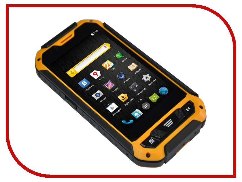 Сотовый телефон DEXP Ixion P 4 Black-Yellow<br>