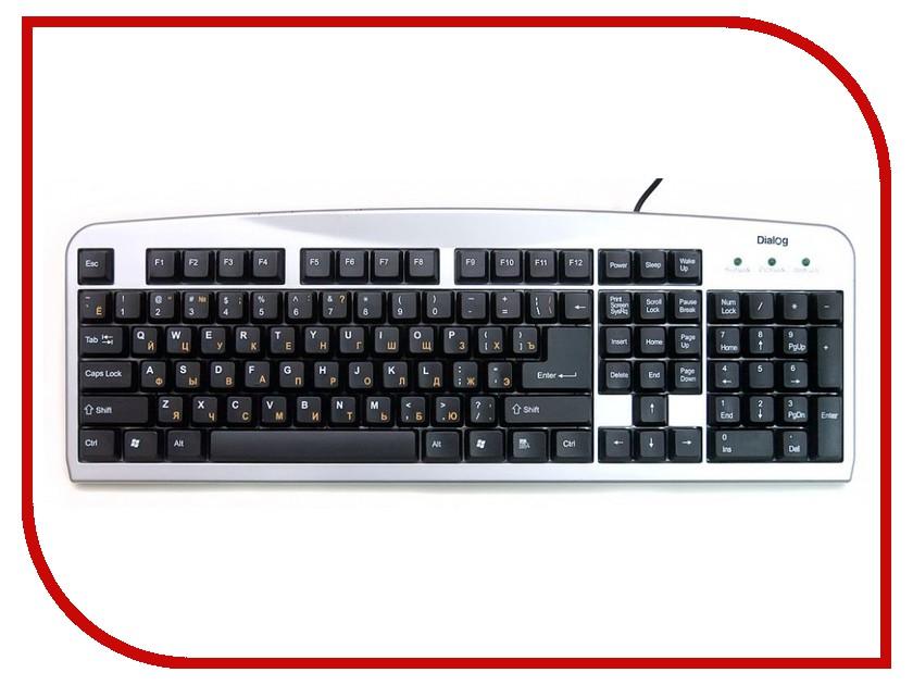 Клавиатура Dialog Standart KS-060SU Silver USB