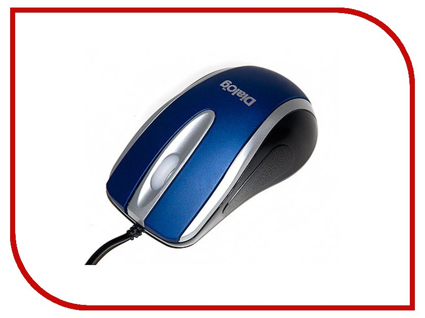 Мышь проводная Dialog Pointer MOP-14SU Blue USB<br>