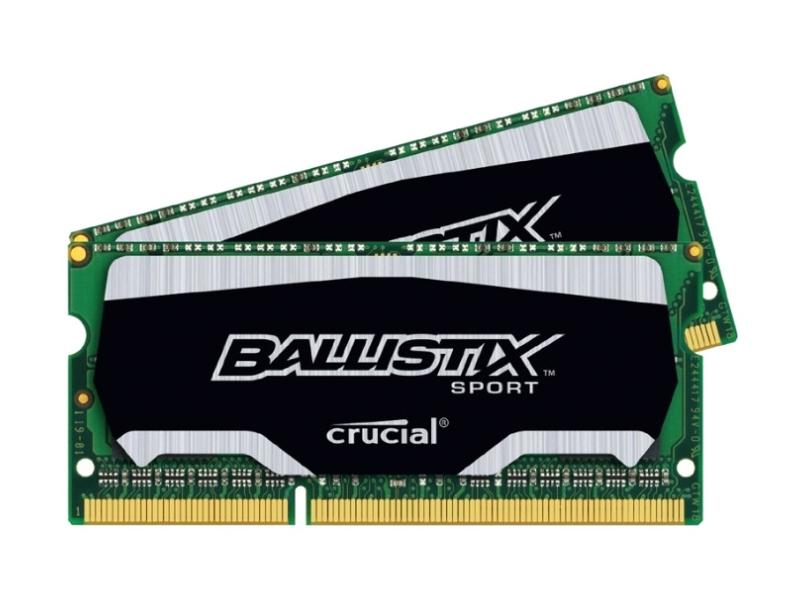 Модуль памяти Crucial PC3-12800 SO-DIMM DDR3L 1600MHz - 8Gb KIT (2x4Gb) BLS2C4G3N169ES4CEU<br>
