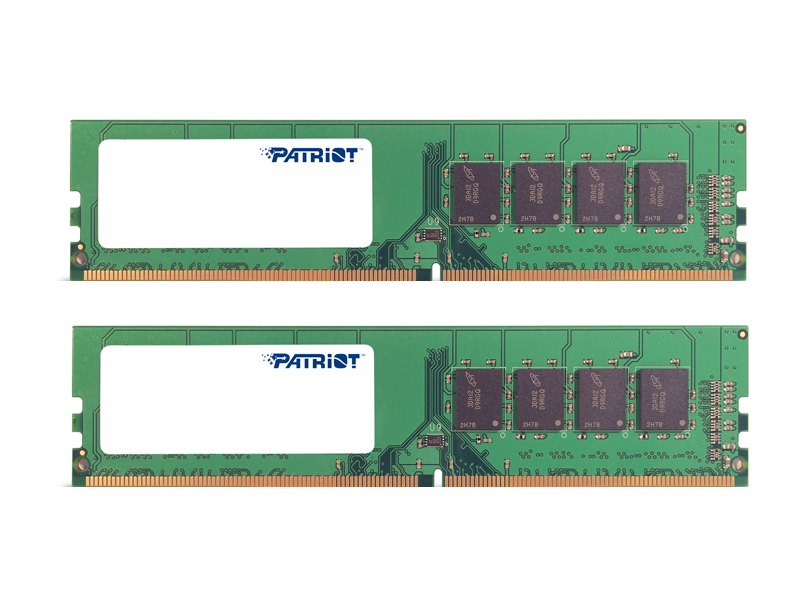 Модуль памяти Patriot Memory DDR4 DIMM 2133MHz PC4-17000 - 8Gb KIT (2x4Gb) PSD48G2133K